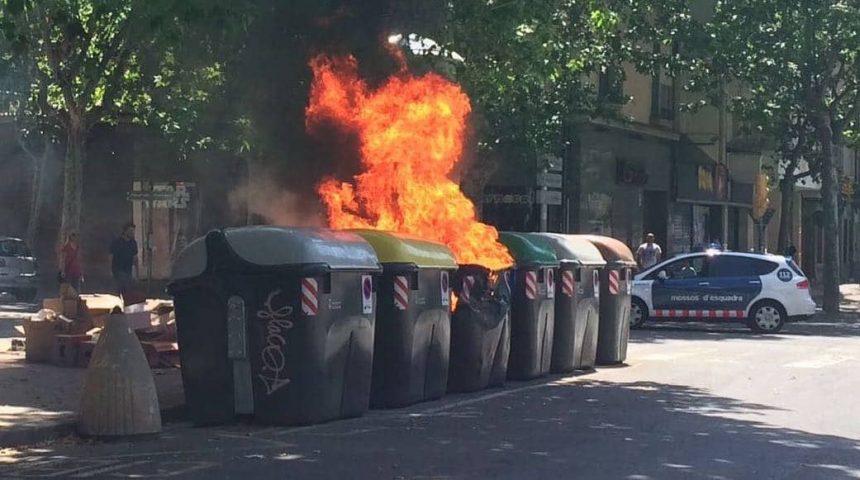 contenidors-cremats-sabadell-sant-joan-2018